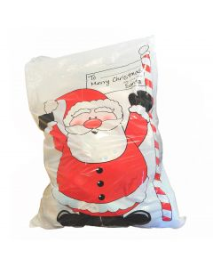 "Forum Santa Claus North Pole Large Christmas 30"" Gift Bags, White Red, 3 Pack"