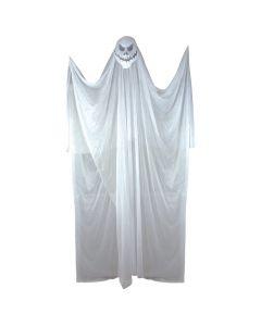 Forum Spooky Halloween Killer Ghost 7' Hanging Decorations, White Black