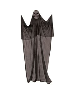 Forum Spooky Halloween Killer Skeleton 7' Hanging Decorations, Black White