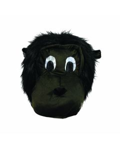 Forum Gorilla Mascot Halloween Costume Full Head Mask, Brown Black, One-Size