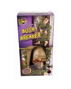 Forum Evil Zombie Bush Breaker Light Up Eyes 5pc Decoration Prop, Beige Multi