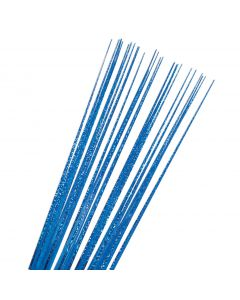 "SKD Holographic Onion Grass Grad 30"" Decorative Sprays, Royal Blue, 12 Pack"
