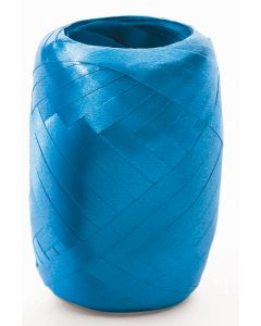SKD Bright Solid Color Crimped Egg Party 75 FT Curling Ribbon, Turquoise