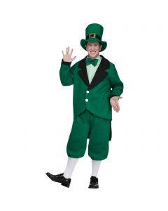 Fun World Pub Crawl Leprechaun St Patrick's Day 4pc Men Costume, Green, One-Size