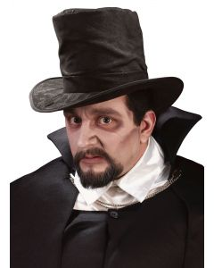 Fun World Halloween Dracula Vampire 3pc Costume Accessory Kit, One-Size, Black