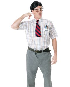 Fun World Nerd Character 5pc Costume Accessory Kit, One-Size, Multicolors
