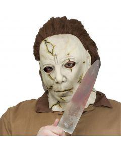 "Fun World Halloween Michael Myers Costume Realistic Knife, 15"" L, Grey Black"