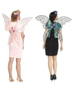 Fun World Fantasy Fairy Sparkle Halloween Mythical Costume Wings, One-Size