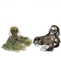 "Fun World Halloween Life Size Undead Grave Breaker Decoration Prop, 45"""