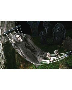 "Fun World Halloween Skeleton Decoration Outdoor Prop, 64"", Grey Black"