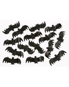 "Fun World Bats Halloween Decoration Pack, 4.5"", Black, 15 Pack"