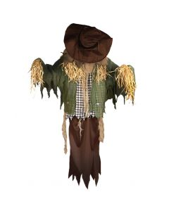Thrashing Head Hanging Scarecrow Halloween Decoration Animated Prop, 60""