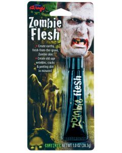 Fun World Halloween Horror Zombie Flesh Makeup Special FX Liquid, 1 oz, White