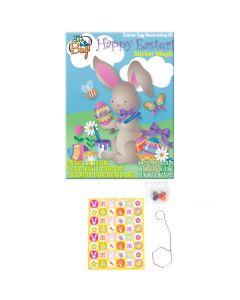 Spring Sticker Design Non-toxic Dye 55pc 2.25g Egg Decorating Kit