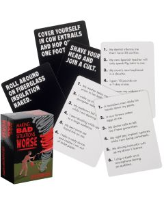 Kheper Making Bad Situations Worse Adult 756pc Game Set, Black White Red