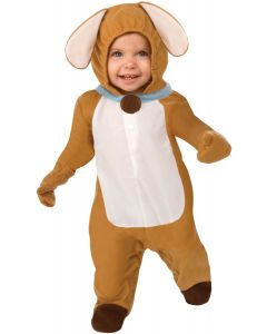 Living Fiction Puppy Love Dog Baby Animal Infant Costume, Small 0-9MO, Brown