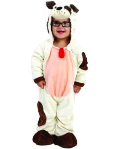 Living Fiction Adorable Baby Dog Toddler Costume, Small 18-24 Months, White