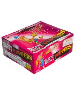 Loftus Joker 4th of July Confetti Party Poppers Box of 72 Piece Pack
