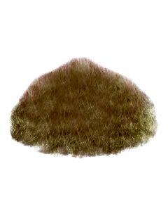 Star Power Real Human Hair Goatee Chin Beard, Brown, One Size