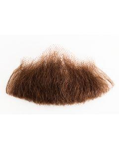Star Power Real Human Hair Balbo Goatee Chin Goatee, Brown, One Size