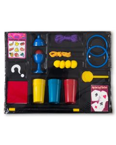 "Eddy's Magic Kids Deluxe Easy Magic Kit #1 84pc 15""x12"" Magic Set, Multicolors"