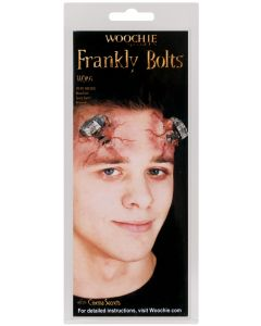 "Cinema Secrets Frankly Bolts Frankenstein 2pc 2"" Latex Appliance, Silver"