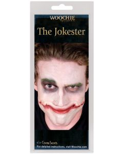 The Jokester Cosplay Villain Smiley Face One Size Latex Appliance, Beige