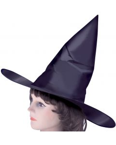Classic Tall Pointy Witch Halloween Costume Hat, Black, One Size, 6 Pack