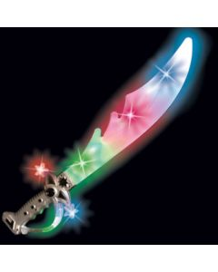 "Supreme Light-Up Space Pirate Saber with Sound 22"" LED Sword"