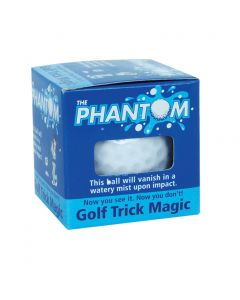 "Trick Golfball Company Jetstreamer Ribbon Prank 1.68"" Trick Golf Ball, White"
