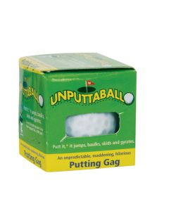 "Trick Golfball Company Prank Unputtable 1.68"" Trick Golf Ball, White"