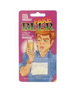 Loftus Realistic Fake Beer Bad Tasting Powder Drink Mix Prank, Tan