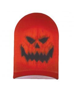 Halloween Spooky Pumpkin Breathable Stocking Mask, Orange, One Size