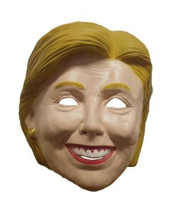 Hillarious Hillary Clinton Political Costume Full Head Mask, One-Size