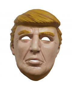 Hilarious Donald Trump Political Presidential Costume Full Head Mask, One-Size