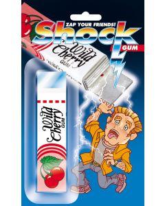 Joker Shock Wild Cherry Gum Package 4in Shocking Prank, Pink