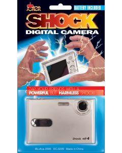 """Joker Zap Fake Digital Camera 3.5""""x2.5"""" Shocking Prank, Silver"""