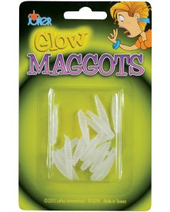 Loftus Glow In The Dark Maggots 18pc Decoration Prop Prank, Green