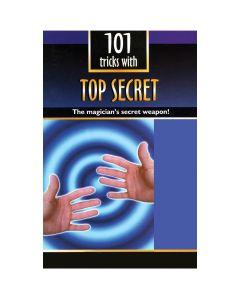 """Empire Magic 101 Top Secret Thumb Tip Tricks Booklet 8.25"""" Magic Book"""