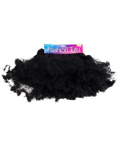 Star Power Party Princess Women Costume Petticoat Tutu Skirt, Black, One-Size