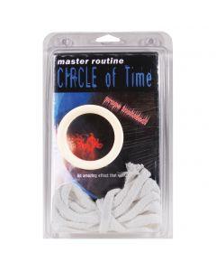 Loftus Circle of Time Ring & Rope with DVD 3pc Magic Set
