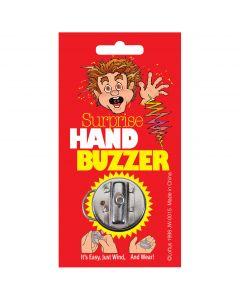 "Joker Suprise Hand Buzzer Funny 1.5"" Shocking Prank, Silver"