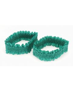 Loftus Old West Can-Can Costume Garter Armbands, Green, One Size, 2 CT