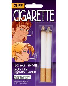 Loftus Fake Puff Cigarettes Costume Prop, White Orange, One Size, 2 CT
