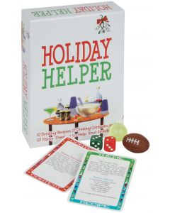 Kheper Holiday Helper - 12 of Each Drinking Recipes, Games & Party Themes
