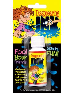 Loftus Disappearing Ink 1oz Prank, Black