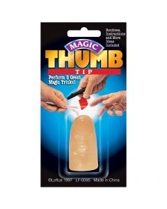 Loftus Magic Realistic Thumb Tip 1.75in Magic Accessories, Tan