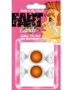 "Loftus Make Them Gassy Fart Candy 1"" Prank, Brown, 2 Pack"
