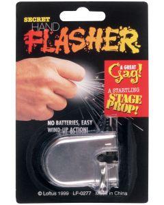 Loftus Secret Hand Flasher Hidden Sparking 2in Prank, Silver