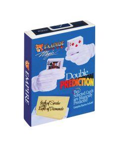 "Double Prediction Forsee The Future 2.5"" Close-Up Magic Trick, Multicolors"
